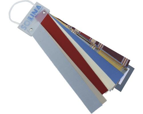 Prêt d'échantillons de tissus pour stores bannes SOLUNA Concept