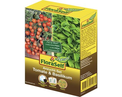 Kit de culture tomate & basilic semences de légumes FloraSelf®-0