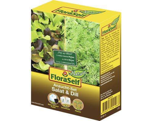 Kit de culture salade et aneth semences de salade FloraSelf®
