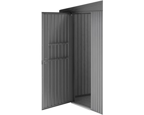 Porte supplémentaire biohort HighLine/Avantgarde/Panorama, gris foncé métallique