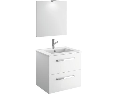 Ensemble meubles de salle de bain EEK A++ Titlis Quick 60cm blanc