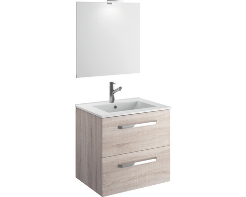 Ensemble meubles de salle de bain EEK A++ Titlis Quick 60 cm blanc