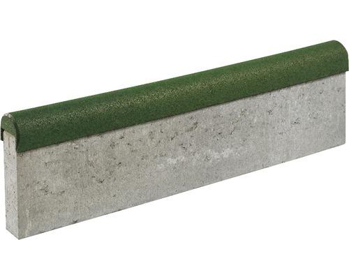 Revêtement de protection anti-chute pour pierre de bordure de gazon terralastic 10 unités 100x6/8x8cm vert