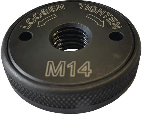 Écrou de serrage rapide M14 pour les meuleuses d''angle