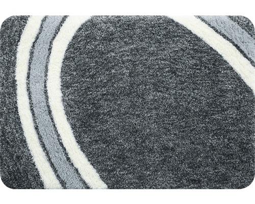 Badteppich Spirella Curve grey 60x90 cm