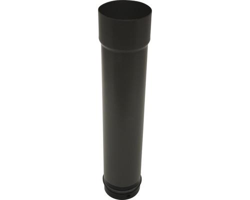 Manchon de raccordement pour poêle à pellets Ø 100 mm 400 m noir