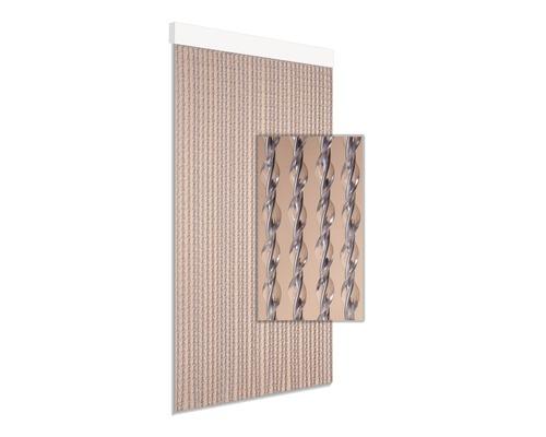 Rideau de porte Art.24 gris 90x210 cm