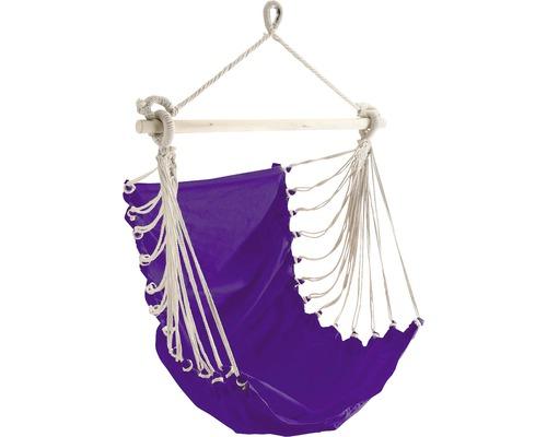 Fauteuil suspendu Fashion coton 85x160 cm violet