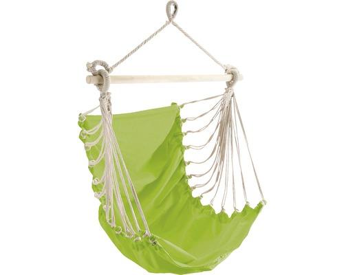 Fauteuil suspendu Fashion coton 85x160 cm vert