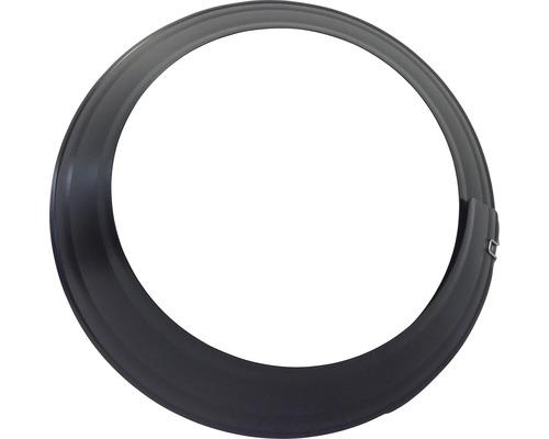 Wandrosette verstellbar 120-135mm schwarz