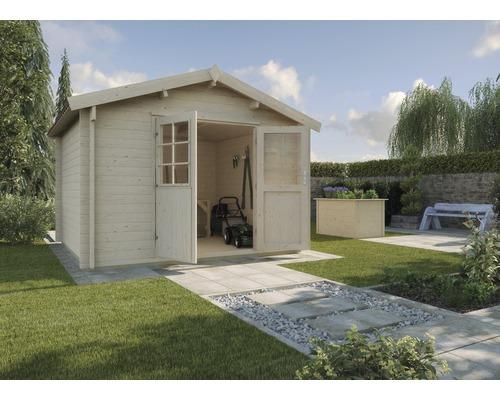 Abri de jardin weka 132A Taille 2, 300x250 cm naturel - HORNBACH ...