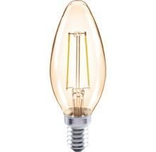 Ampoule en forme de bougie à LED FLAIR CL35C ambre E14/2W(26W) 180lm 2000K blanc chaud-thumb-0