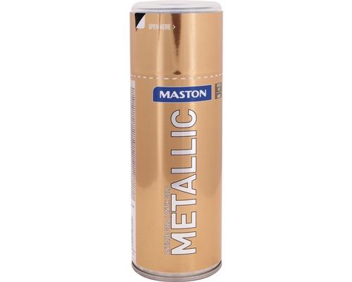 Peinture en bombe aérosol Maston metallic or antique 400 ml