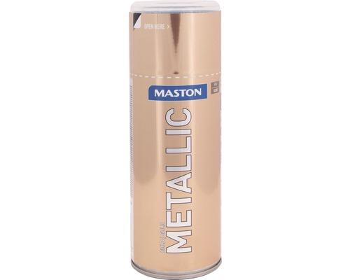 Peinture en bombe aérosol Maston metallic or 400 ml