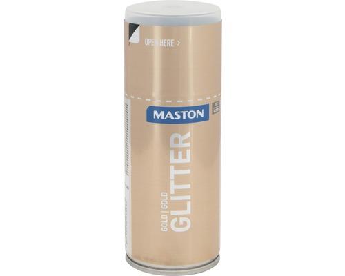Spray effet scintillant Maston or 150 ml