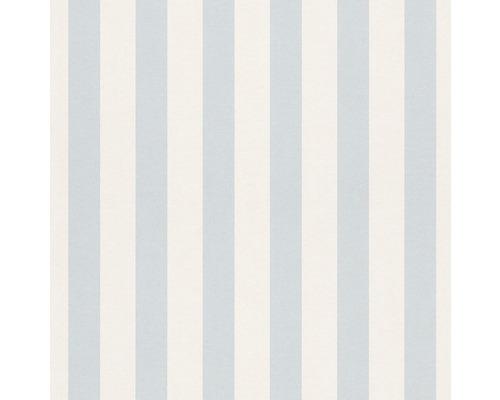 Papier peint papier 246025 Bambino XVII rayures bleu