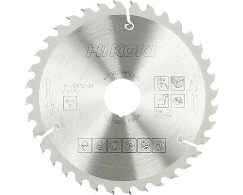 Lame de scie circulaire en métal dur HiKOKI 165x30/20 mm Z36