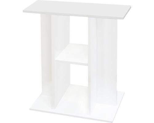 Meuble bas pour aquarium Aquatlantis Aquadream 60x30x70 cm, blanc