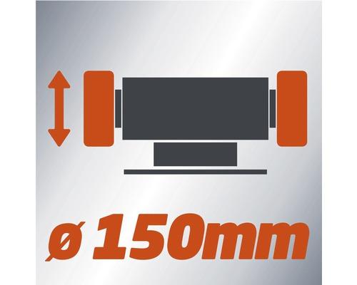 Einhell Meuleuse double TH-BG 150 150 W
