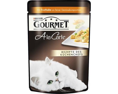 Nourriture humide pour chats, Gourmet A la Carte dinde et légumes 85g