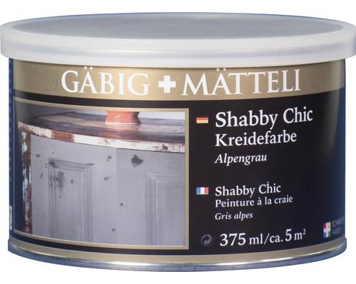 Gäbig+Mätteli Kreidefarbe Alpengrau 375ml