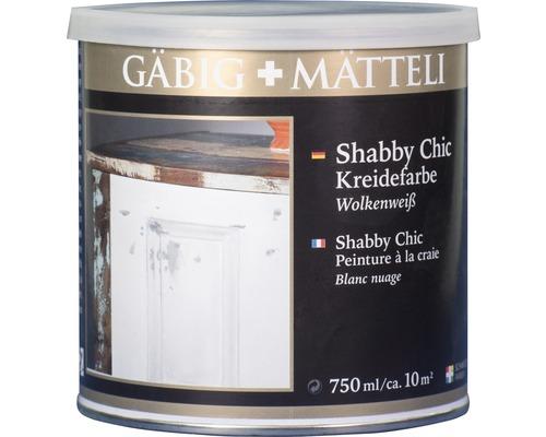 Gäbig+Mätteli Kreidefarbe Wolkenweiß 750ml