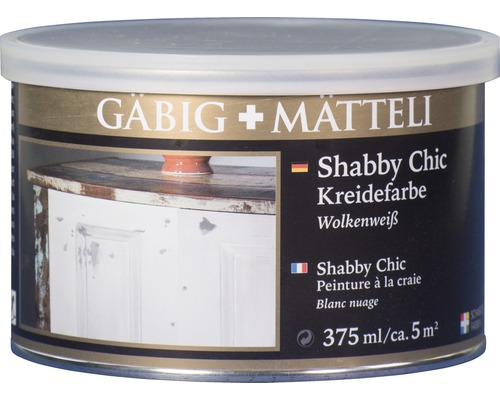 Gäbig+Mätteli Kreidefarbe Wolkenweiß 375ml