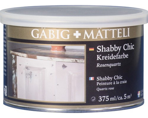 Gäbig+Mätteli Kreidefarbe Rosenquarz 375ml