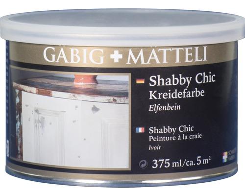 Gäbig+Mätteli Kreidefarbe Elfenbein 375 ml