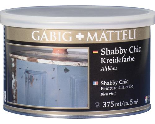 Gäbig+Mätteli Kreidefarbe Altblau 375ml