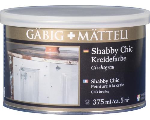 Gäbig+Mätteli Kreidefarbe Gischtgrau 375ml