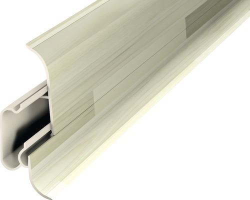 Plinthe avec guidage de câble woodstock 60x2500 mm 2 pièces-0