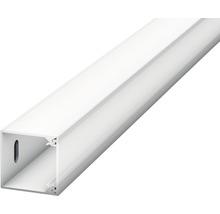 Canal LED pour plinthes à LED opale 22x2500 mm-thumb-1