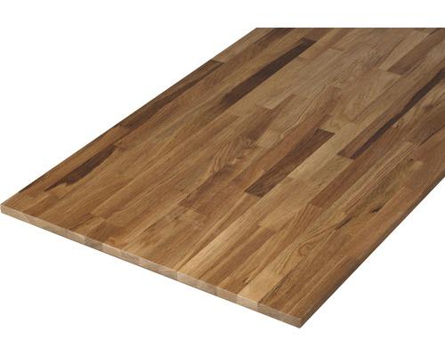 Panneau en bois lamellé-collé chêne B/C 18x600x2000mm