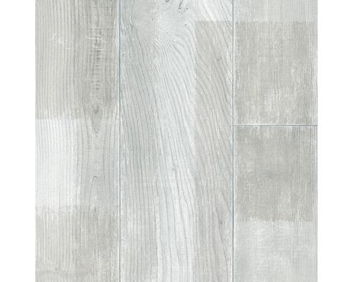 PVC Kasos Holzdekor grau 400 cm breit (Meterware)