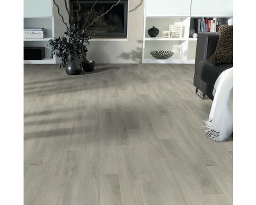 PVC Skyros Holzdekor grau 200 cm breit (Meterware)