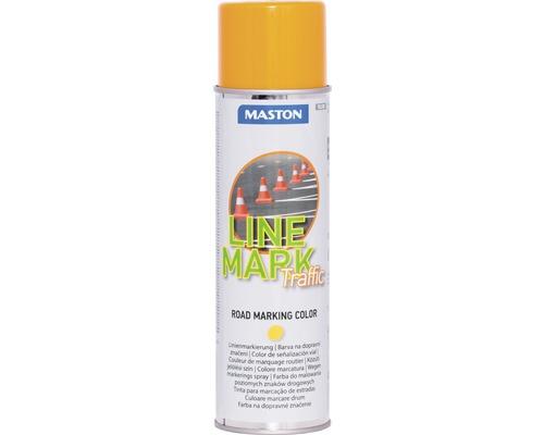 Sprühlack Maston Bodenmarkierungsspray gelb 585 ml