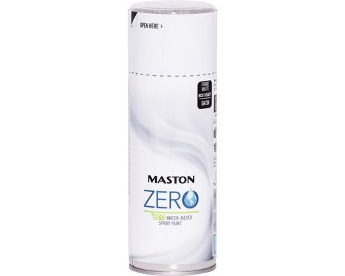 Peinture aérosol Maston Zero peinture pour portes et fenêtres blanc 400 ml