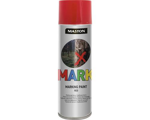 Sprühlack Maston MARK Markierungsspray rot 500 ml