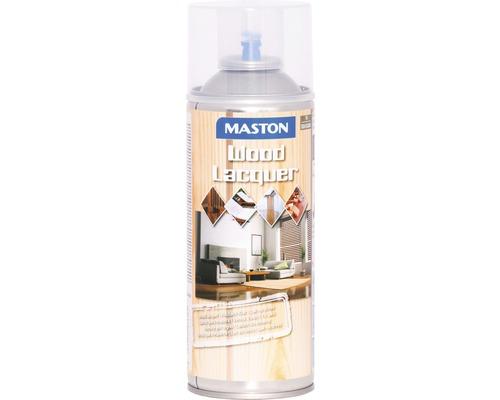 Vernis pour bois Maston satin brillant incolore 400 ml