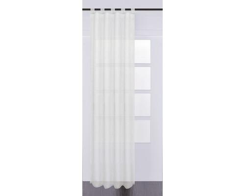 Voilage à passants Basic Effecto blanc 130x245 cm