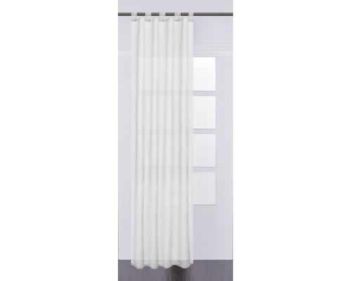 Voilage à passants Plana blanc 140x245 cm