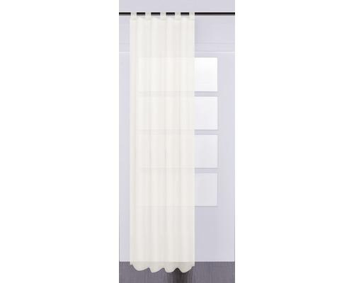 Voilage à passants Effecto crème 130x245 cm