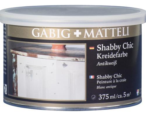 Gäbig+Mätteli Kreidefarbe antikweiß 375ml