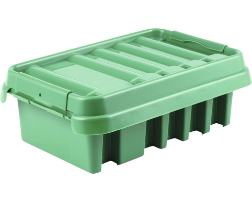 Boîtier de distribution 285x150x110mm vert Heitronic