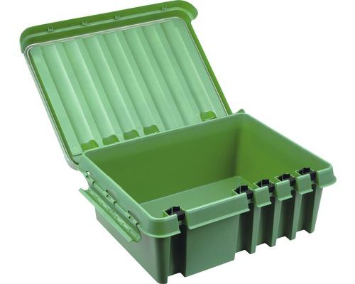 Boîtier de distribution 330x230x140mm vert Heitronic