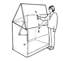 Gerätebox Storeguard 196 x 89 x 109 cm, anthrazit-thumb-5