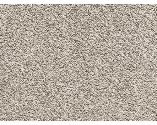 Moquette velours frisé Santiago beige largeur 400cm (marchandise au mètre)