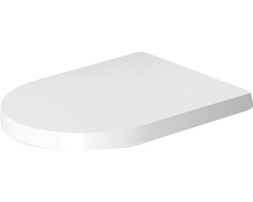 Abattant WC Duravit ME by Starck blanc avec abaissement automatique 0020090000