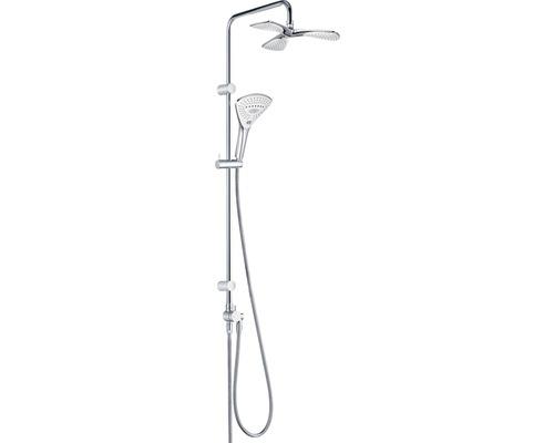 Duschsystem KLUDI Fizz Dual Shower System 3S 6709305-00 chrom mit Umsteller